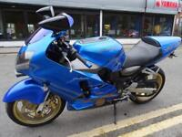 2001 51 Reg Kawasaki ZX12R With 36877 miles in blue with extras