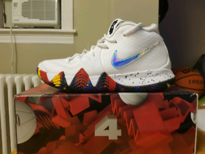 Kyrie 4 basketball shoes size 10