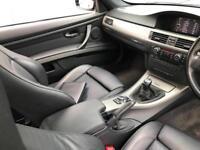 2010 60 Reg BMW 320d M Sport Coupe + BLACK + BLACK LEATHER + SAT NAV +