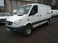 Mercedes Sprinter 319 CDI MWB 4X4 (white) 2010