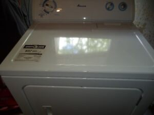 NEWER AMANA DRYER KING SIZE CAPACITY CAN DELIVER