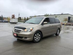 2007 Honda Odyssey  EX,  8 Passenger, 3 Years Warranty Available