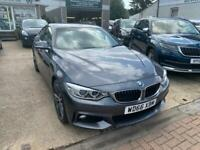 2017 BMW 4 Series 420d [190] xDrive M Sport 5dr Auto [Prof Media] Coupe Diesel A