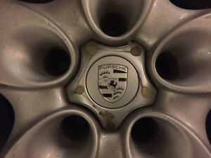 4 X 18X8 rims/mags Porsche Cayenne, also fit WW Toureg,