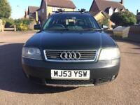 Audi A6 Allroad 2.5 TDI Quattro Auto Automatic 53 2003