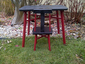 Toddler Chalk Board Table with chair London Ontario image 2