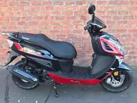 NEW Euro 4 Lexmoto Titan 125 learner legal own this bike for only £10.51 a week