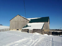 Farm for Sale in the Grey Highlands, 95 acres