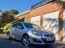 2015 Vauxhall Astra 1.6i VVT SRI MODEL /35K FSH / SALVAGE DAMAGED REPAIRED