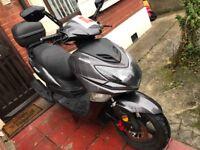 2016 Lexmoto Fmx 125cc Scooter Motorbike
