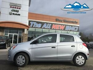 2015 Mitsubishi Mirage DE   ACCIDENT FREE, FUEL SAVER, BLUETOOTH