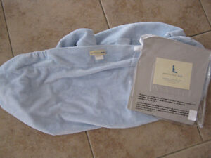 Pottery BARN CHAMOIS changing pad cover