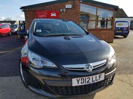 2012 Vauxhall Astra GTC 1.7CDTi 16v Sport MANUAL DIESEL FULL SERVICE HISTORY