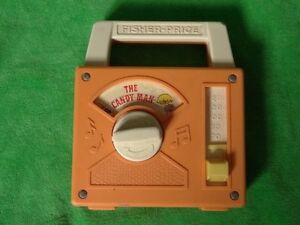 """Vintage 1978 Fisher-Price Radio """"The Candy Man"""""""