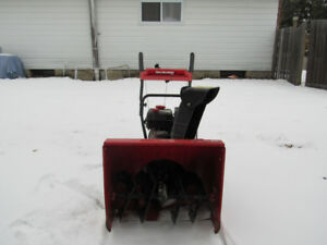 "24"" Yard Machines Snow blower"