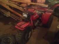 Honda 250 big red get on it and go