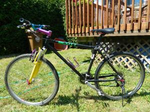 Super vélo hybride pour homme ou garçon avec amortisseurs