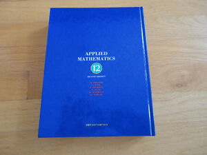 McGraw-Hill Ryerson Applied Mathematics 12  Hardcover textbook London Ontario image 2