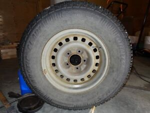 Studded winter tires on rims, F.Expedition 98 or 1/2 ton Ford Prince George British Columbia image 4