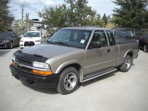 2002 Chevrolet S-10 Ext Cab  WELL MAINTAINED!