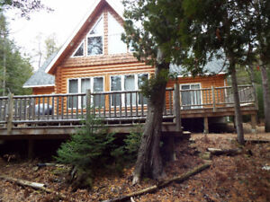 SOLD!! Frontier Log Home/Cottage on 5+ Acres! - By Ashley Barker