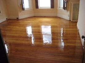 Floor sanding, repairwork and a variety of finishes offered by experienced professionals