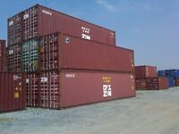 20' & 40' Storage and Shipping Containers - Purchase it Today!