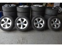 """16"""" Genuine OEM BMW F30 Style 306 Wheels & Tyres will fit a F30 and F31 3 Series"""