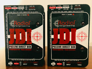 2 Radial JDI - Passive Direct Boxes