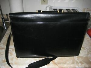 Black Brief Case with strap Kawartha Lakes Peterborough Area image 2