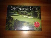 Ontario Golf Coffee table book plus 2 large golf new shirts