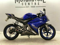 Yamaha YZF-R125 / YZF / YZFR125 / 125cc Sports Bike / Motorcycle