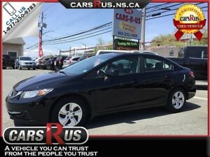 2013 Honda Civic LX   Free winter tires on all cars and SUV'S