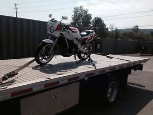 Motorcycle Towing Services, Flat Rate, 24/7 - Call 416.833.5993