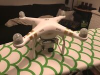 DJI Phantom 3 Pro 4K Drone with spare battery and more