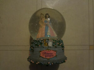 2004 Mattel Barbie Musical Castle Snow Globe