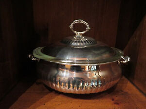 Silver Plated Soup Tureen with lid