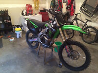 2009 kx250f with 56 hours