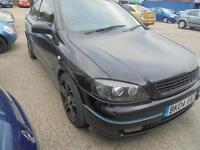 Vauxhall Astra 1.6i 16v SXi 3 door - 2004 04-REG - 7 MONTHS MOT