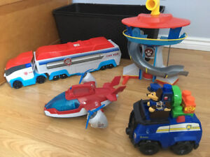 PAW PATROL TOYS (all included)