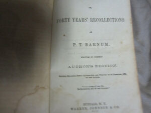 PT Barnum/Struggles and Triumphs