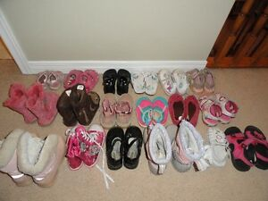 Toddler girls shoes, sandals and boots