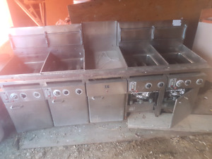 Keating of Chicago Fryers   4 in 1 fryer...4 separate