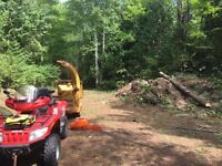Wood Chipper Service - Brush Chipping - Tree Removal & Clean-Up