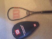 Wilson squash raquet