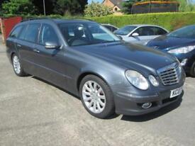 Mercedes E320 CDi Elegance Auto Met Grey Black Leather Good Spec