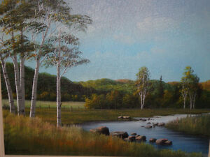 BILL WILLIAM SAUNDERS CANADIAN ORIGINAL PAINTING West Island Greater Montréal image 1