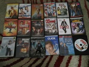 VHS + DVD for sale