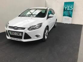 Ford Focus 1.6 TI-VCT ( 105ps ) 2013 Zetec finance available from £30 per week