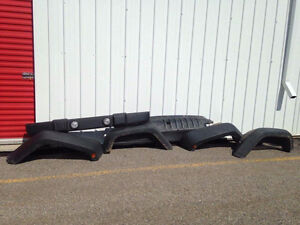 2011 Jeep Wrangle Fenders and Front Bumper